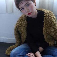 ストリート 外国人風 大人かわいい ショート ヘアスタイルや髪型の写真・画像