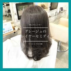 ストレート 前髪 髪質改善 縮毛矯正 ヘアスタイルや髪型の写真・画像