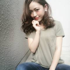 グラデーションカラー ゆるふわ 外国人風 ストリート ヘアスタイルや髪型の写真・画像