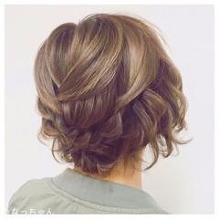 パーティ ヘアアレンジ 結婚式 アップスタイル ヘアスタイルや髪型の写真・画像