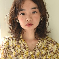 外国人風 ミルクティー ニュアンス パーマ ヘアスタイルや髪型の写真・画像