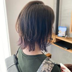 ナチュラル ボブ レイヤースタイル レイヤーボブ ヘアスタイルや髪型の写真・画像