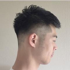 刈り上げ メンズ ショート ストリート ヘアスタイルや髪型の写真・画像