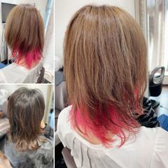 ストリート ウルフカット ネオウルフ マッシュウルフ ヘアスタイルや髪型の写真・画像