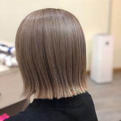 ミディアム ガーリー ブリーチ必須 ブリーチオンカラー ヘアスタイルや髪型の写真・画像