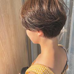 ハンサムショート ショートヘア ショート ショートボブ ヘアスタイルや髪型の写真・画像