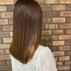艶髪 ナチュラル ダメージレス 髪質改善 ヘアスタイルや髪型の写真・画像