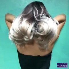 ロング グラデーションカラー 外国人風 ハイライト ヘアスタイルや髪型の写真・画像