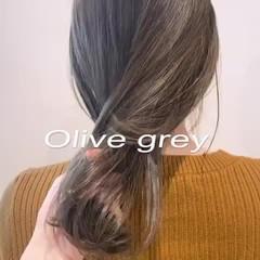 大人かわいい アンニュイほつれヘア オフィス アウトドア ヘアスタイルや髪型の写真・画像