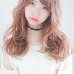 ハイライト ミディアム 外国人風 大人かわいい ヘアスタイルや髪型の写真・画像