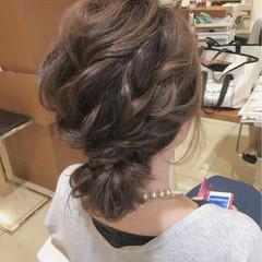 上品 ロング 結婚式 女子会 ヘアスタイルや髪型の写真・画像