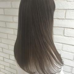 艶髪 縮毛矯正 ナチュラル トリートメント ヘアスタイルや髪型の写真・画像