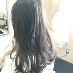 ロング ナチュラル 透明感カラー 透明感 ヘアスタイルや髪型の写真・画像