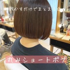 ショートボブ ミニボブ ベリーショート ショートヘア ヘアスタイルや髪型の写真・画像
