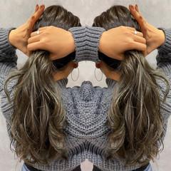 ロング ストリート ヘアスタイルや髪型の写真・画像