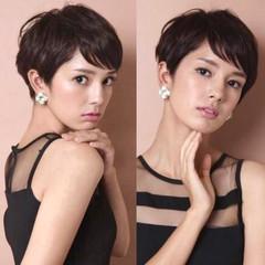 40代 吉瀬美智子 30代 モード ヘアスタイルや髪型の写真・画像