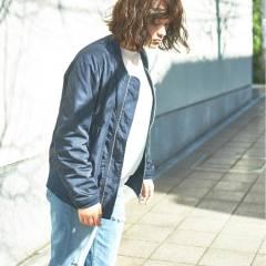 パンク ボブ ウェットヘア 暗髪 ヘアスタイルや髪型の写真・画像