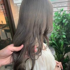 韓国風ヘアー ブリーチ ブリーチカラー ナチュラル ヘアスタイルや髪型の写真・画像