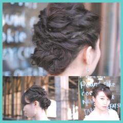 ショート アッシュ フェミニン ミディアム ヘアスタイルや髪型の写真・画像