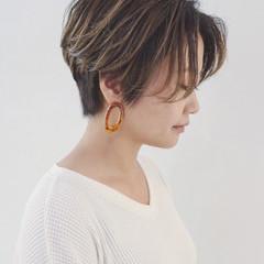 ショート モード マニッシュ かっこいい ヘアスタイルや髪型の写真・画像