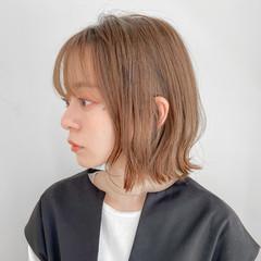ミニボブ 外ハネボブ デジタルパーマ 切りっぱなしボブ ヘアスタイルや髪型の写真・画像
