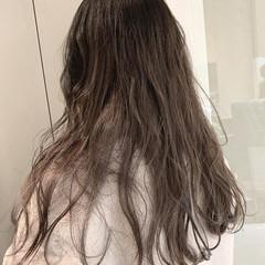 グレージュ アッシュ 透明感 アッシュグレージュ ヘアスタイルや髪型の写真・画像