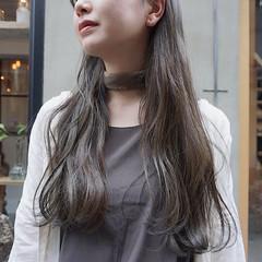 ナチュラル ロング 暗髪 ヘアアレンジ ヘアスタイルや髪型の写真・画像