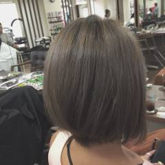 外国人風 ショート ハイトーン ストリート ヘアスタイルや髪型の写真・画像