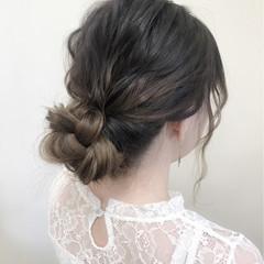 ヘアアレンジ デート フェミニン 大人かわいい ヘアスタイルや髪型の写真・画像