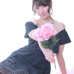 フェミニン 撮影 大人可愛い かわいい ヘアスタイルや髪型の写真・画像
