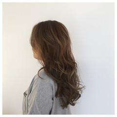 夏 ハイライト 春 ミルクティー ヘアスタイルや髪型の写真・画像