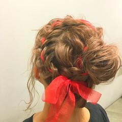 ウェットヘア ハイライト 夏 ヘアアレンジ ヘアスタイルや髪型の写真・画像