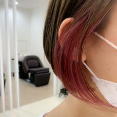 ナチュラル 透明感 ショート アンニュイ ヘアスタイルや髪型の写真・画像
