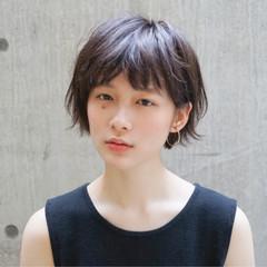 デート ショート 女子会 フェミニン ヘアスタイルや髪型の写真・画像