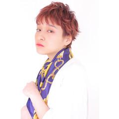 ベリーショート ショート 外国人風カラー フェミニン ヘアスタイルや髪型の写真・画像
