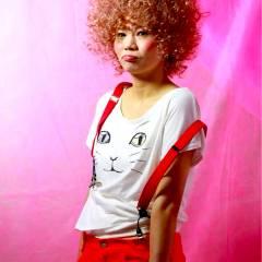 ストリート ガーリー パーマ ヘアスタイルや髪型の写真・画像
