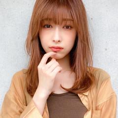 デジタルパーマ 小顔 レイヤー コンサバ ヘアスタイルや髪型の写真・画像