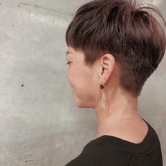 ショート 刈り上げ 大人ショート モード ヘアスタイルや髪型の写真・画像