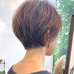 ショートカット ショートヘア フェミニン ショート ヘアスタイルや髪型の写真・画像