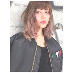 卵型 グラデーションカラー ショート ストリート ヘアスタイルや髪型の写真・画像