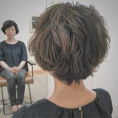 くせ毛風 ナチュラル パーマ ゆるふわ ヘアスタイルや髪型の写真・画像