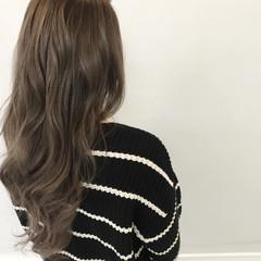 外国人風 透明感 外国人風カラー ロング ヘアスタイルや髪型の写真・画像