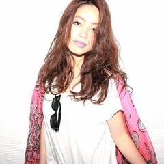 ストリート 外国人風 レイヤーカット 夏 ヘアスタイルや髪型の写真・画像