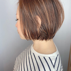 ベリーショート ショート ミニボブ ショートボブ ヘアスタイルや髪型の写真・画像