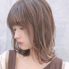 アンニュイほつれヘア ミディアム 大人かわいい ゆるふわ ヘアスタイルや髪型の写真・画像