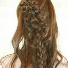 コンサバ 愛され フェミニン ヘアアレンジ ヘアスタイルや髪型の写真・画像