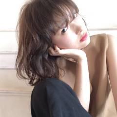 黒髪 モード 外国人風 フェミニン ヘアスタイルや髪型の写真・画像