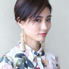 ショート モード 坊主 大人女子 ヘアスタイルや髪型の写真・画像