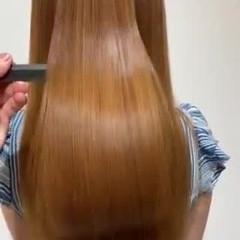 ロング 美髪 艶髪 エレガント ヘアスタイルや髪型の写真・画像