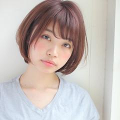 女子会 前髪あり リラックス デート ヘアスタイルや髪型の写真・画像